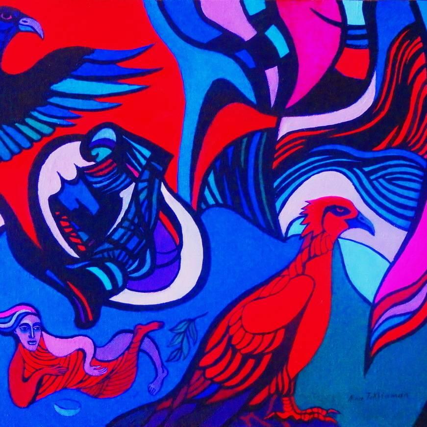 virmuze exhibit Fantasy, metaphysics, visionary, meditation logo main