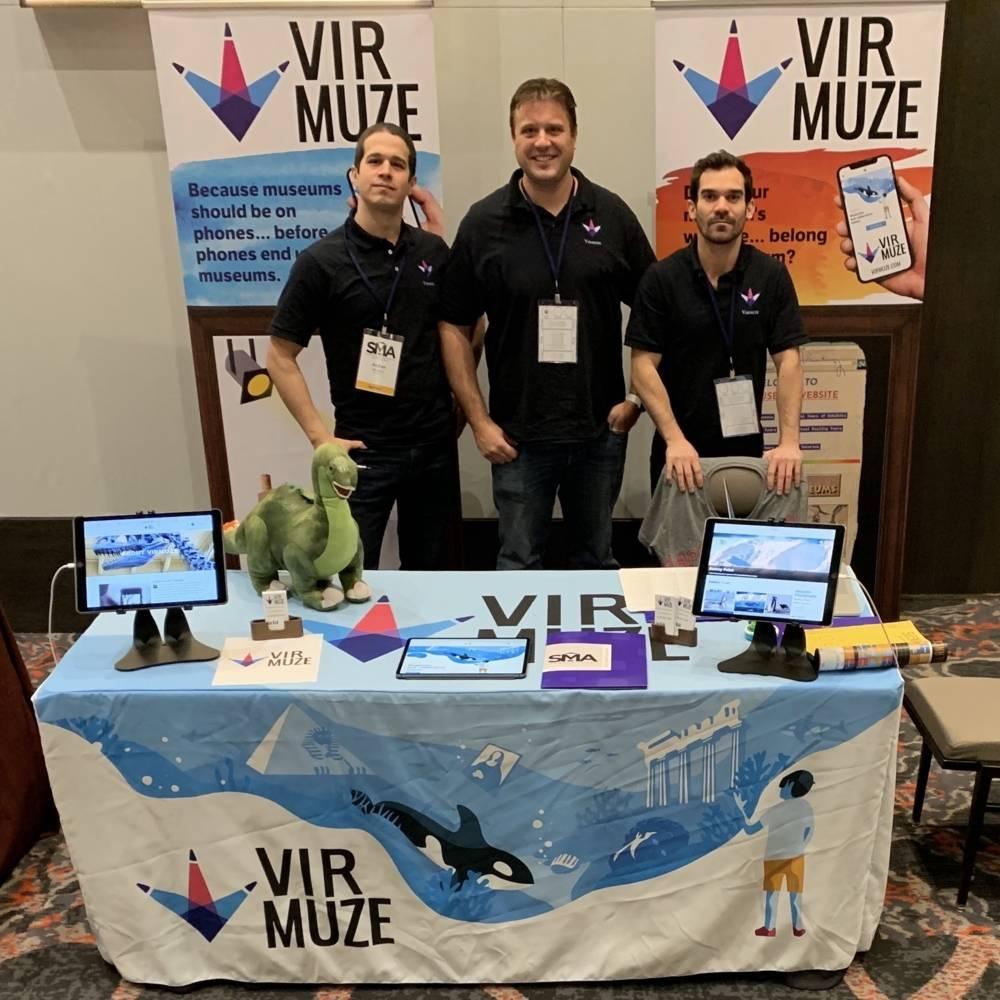 virmuze exhibit Small Museum Association 2019 Conference logo main