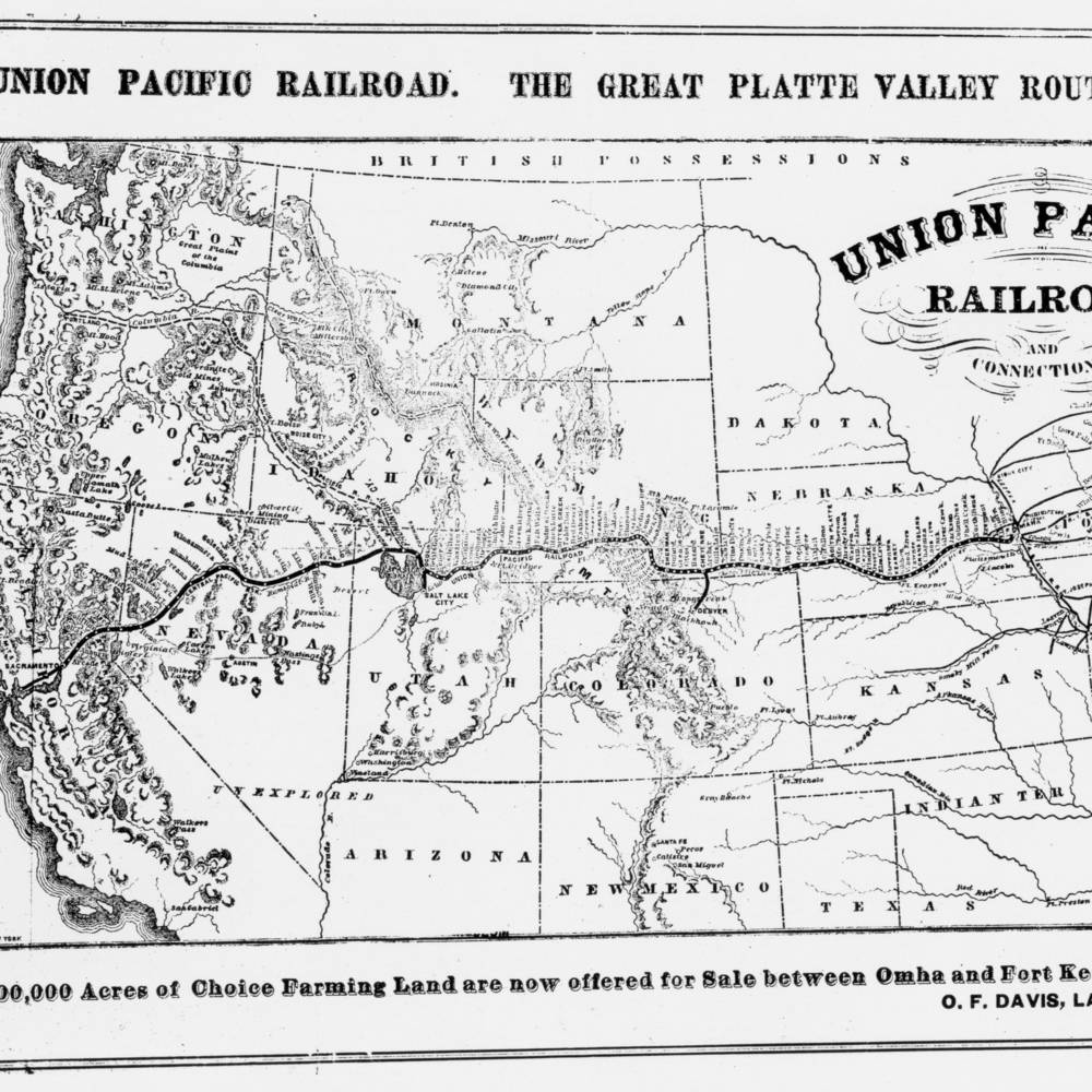 virmuze exhibit Hell on Wheels: Union Pacific Towns in Wyoming logo main