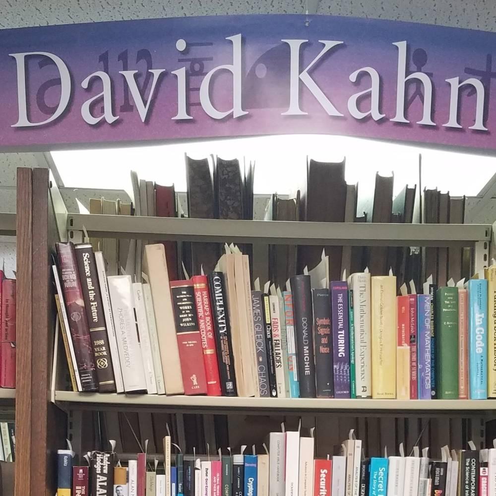 virmuze exhibit The Dr. David Kahn Collection logo main