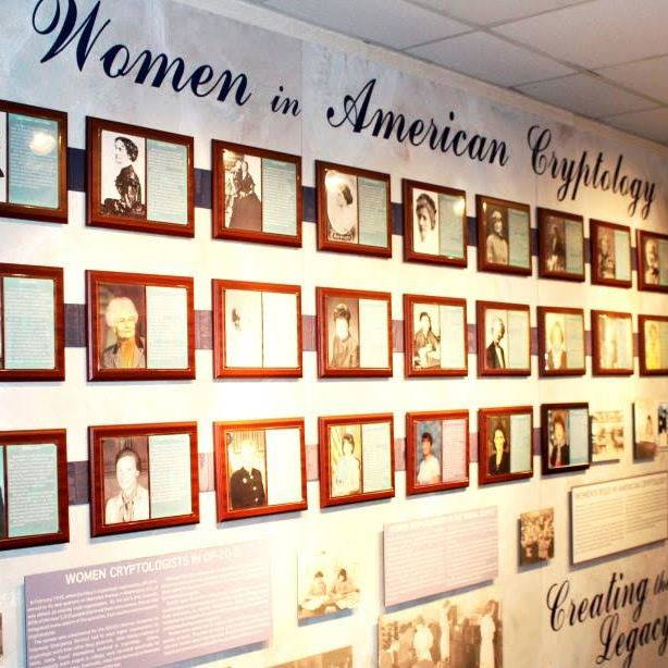 virmuze exhibit Women in American Cryptology logo main