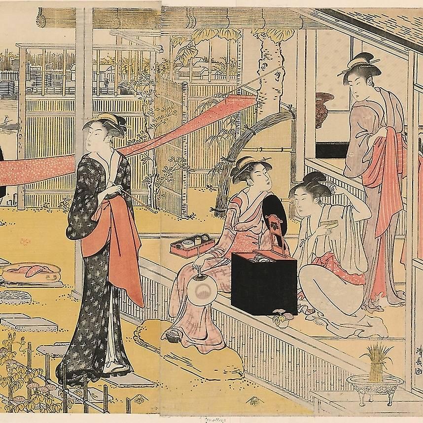 virmuze exhibit Innovation and Golden Age of Ukiyo-e logo main