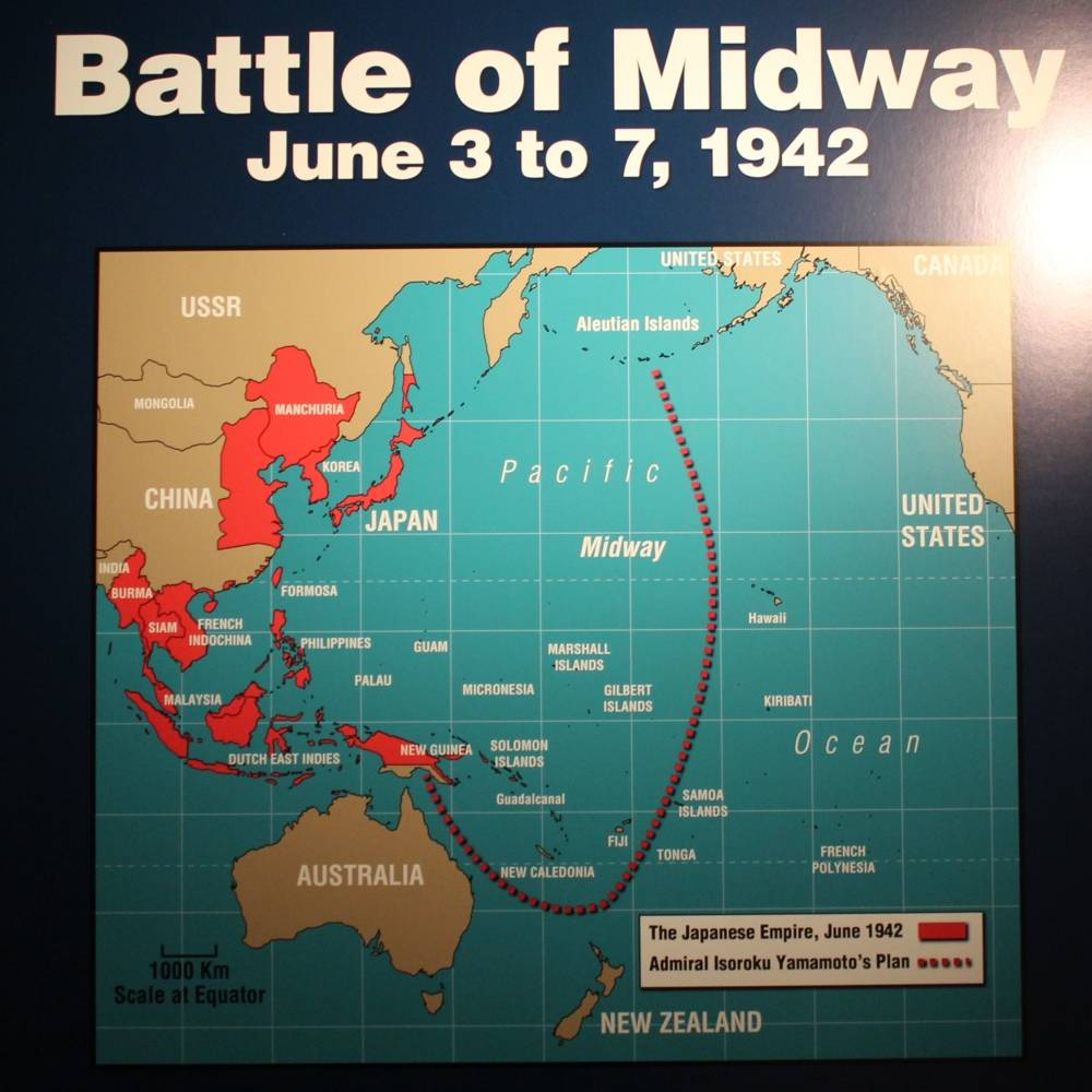 virmuze exhibit Battle of Midway logo main