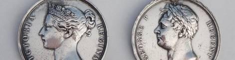 virmuze exhibit The Medals of Edward Kelk logo main banner