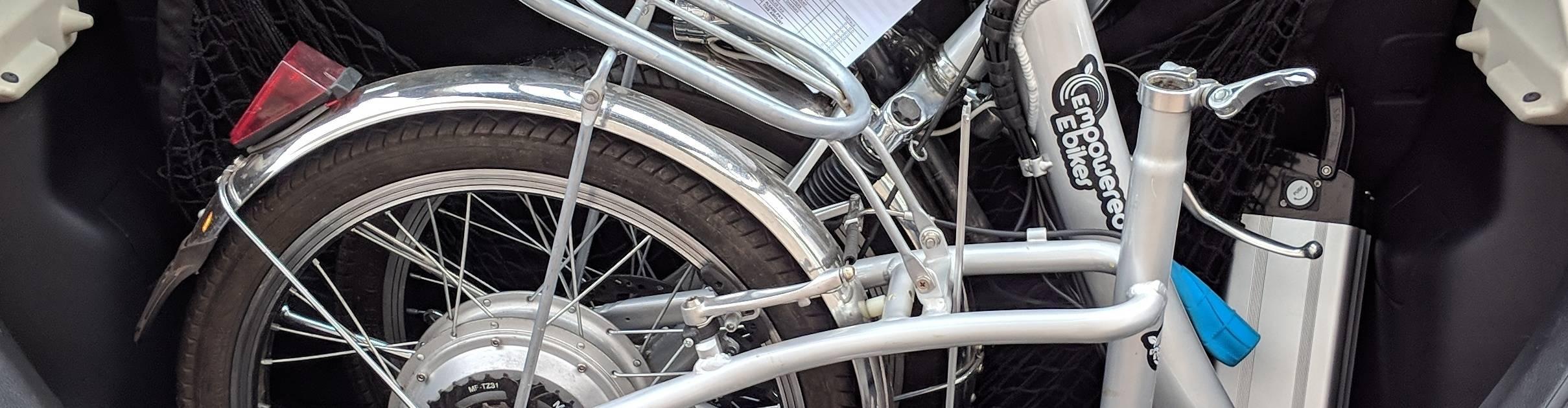 virmuze exhibit Folding Bikes logo main banner