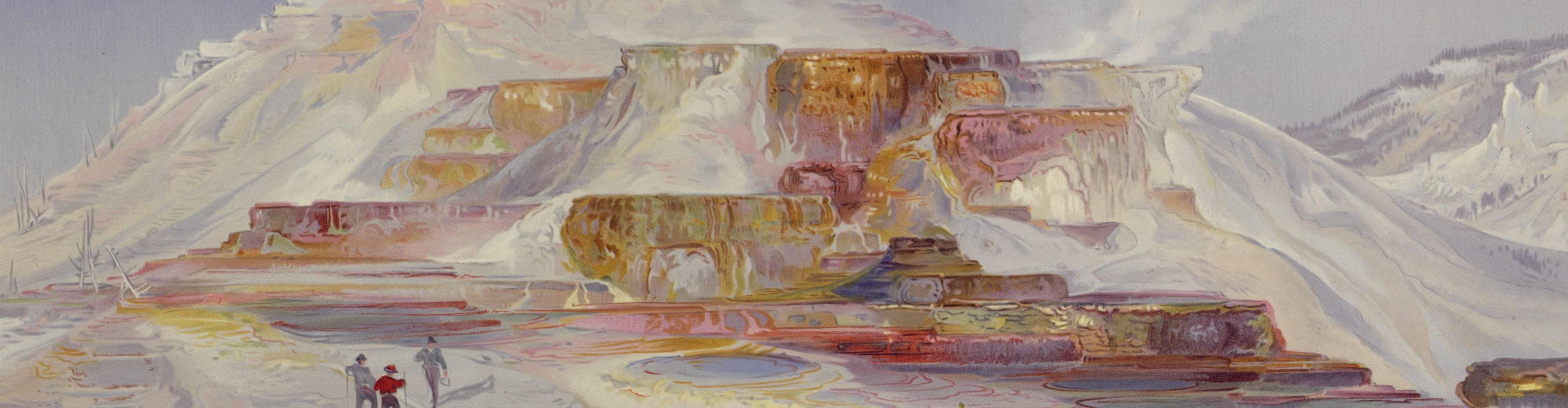 virmuze exhibit Hayden and the Birth Of Yellowstone logo main banner