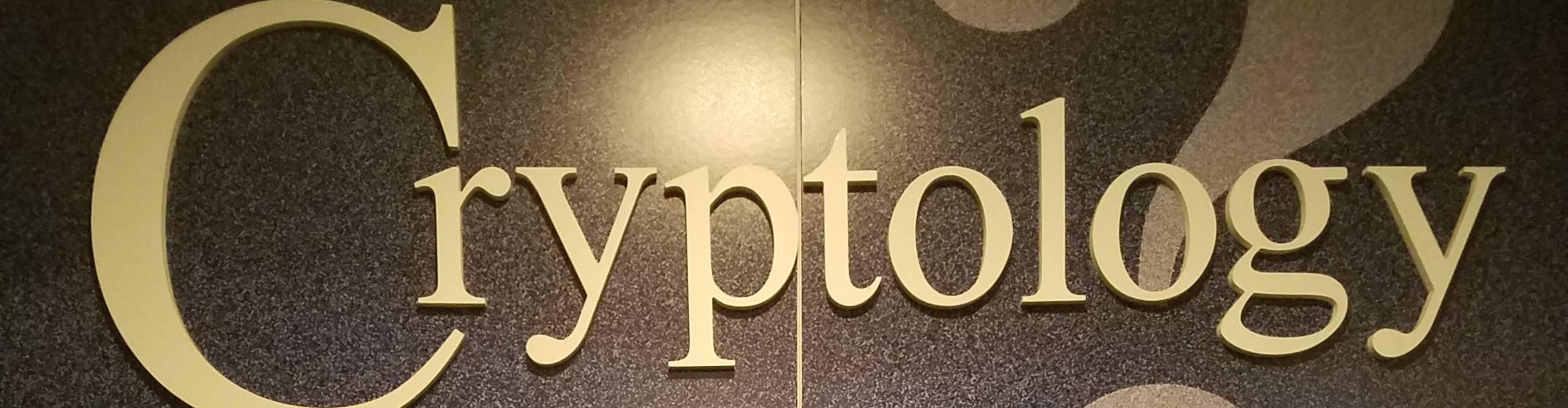 virmuze exhibit What Is Cryptology? logo main banner