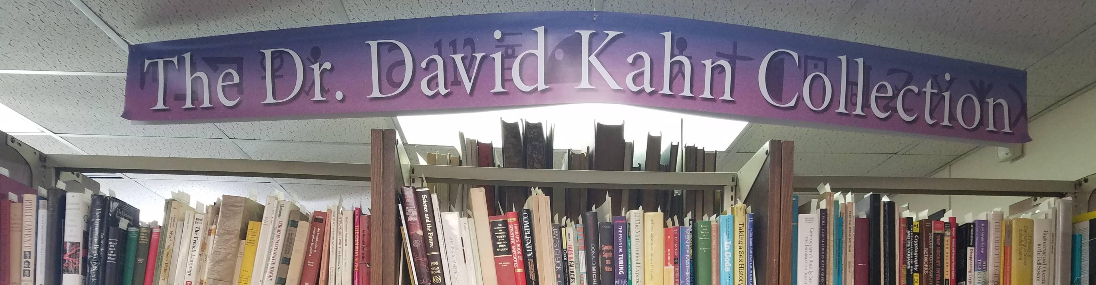 virmuze exhibit The Dr. David Kahn Collection logo main banner