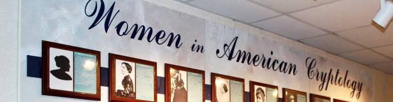 virmuze exhibit Women in American Cryptology logo main banner