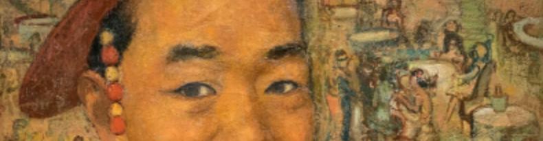 virmuze exhibit Pai Un Soung (1901-1978) logo main banner