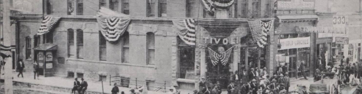 virmuze exhibit J.S. Palen: An Exploration into Wyoming History logo main banner