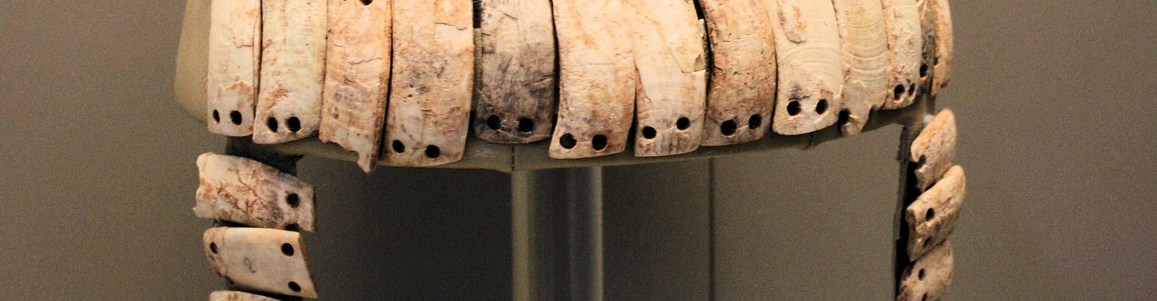 virmuze exhibit Mycenaean Tusk Helmet logo main banner