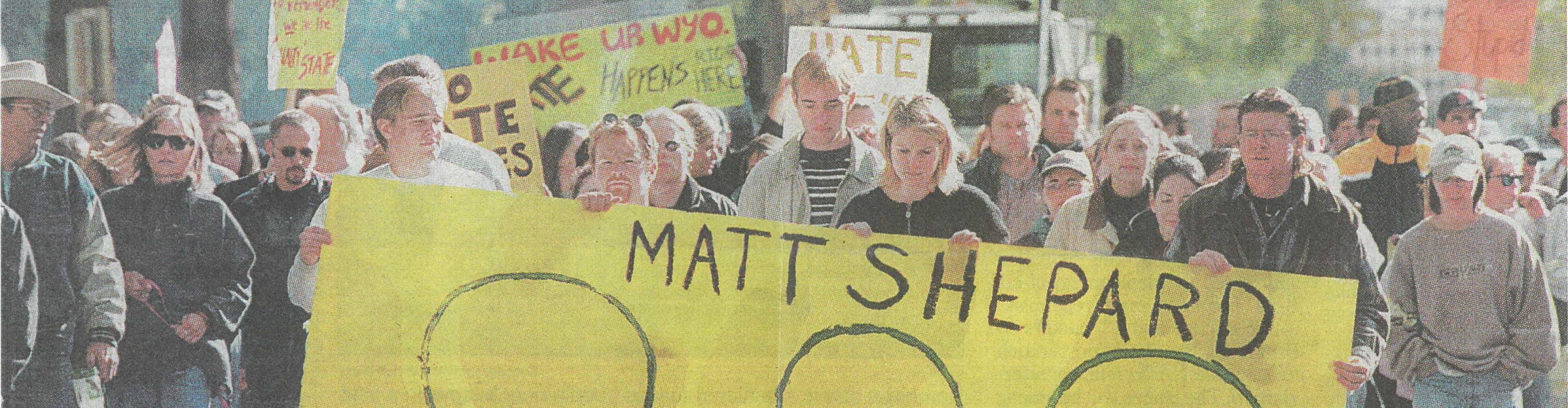 virmuze exhibit In Memorial: Matthew Shepard logo main banner