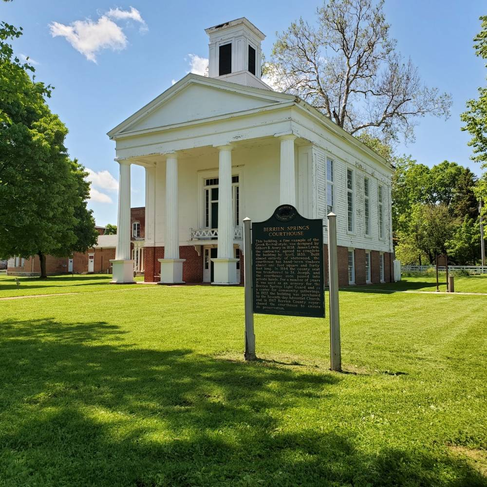 virmuze museum Berrien County Historical Association main logo