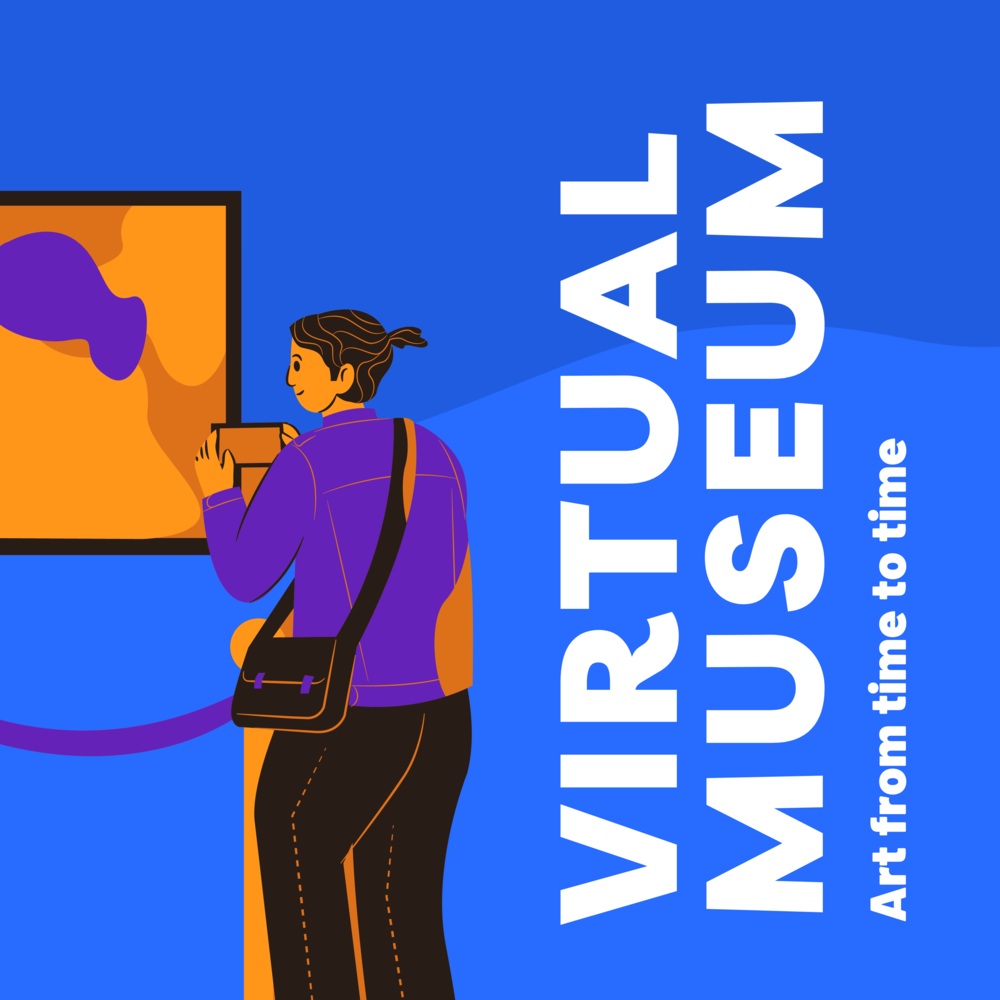 virmuze museum Virtual Museum from time to time main logo