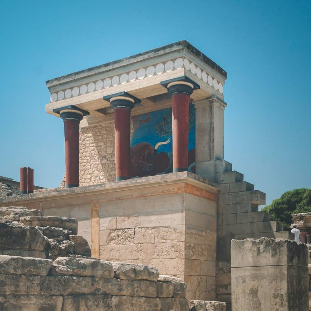 virmuze museum Minoan Art and Archaeology main logo