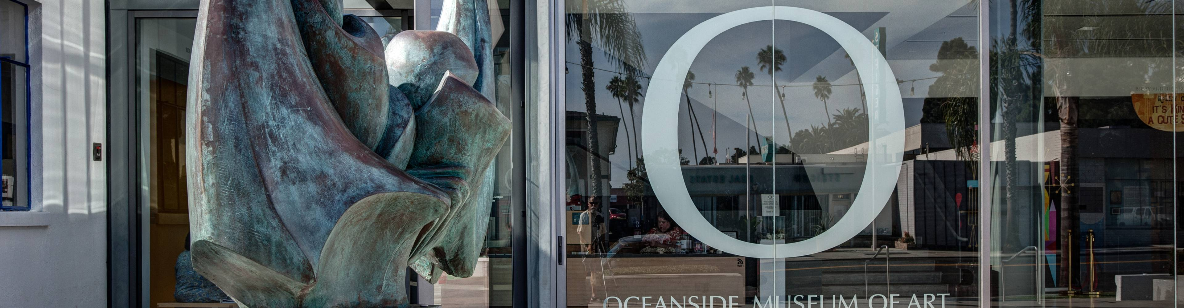 virmuze museum Oceanside Museum of Art main banner