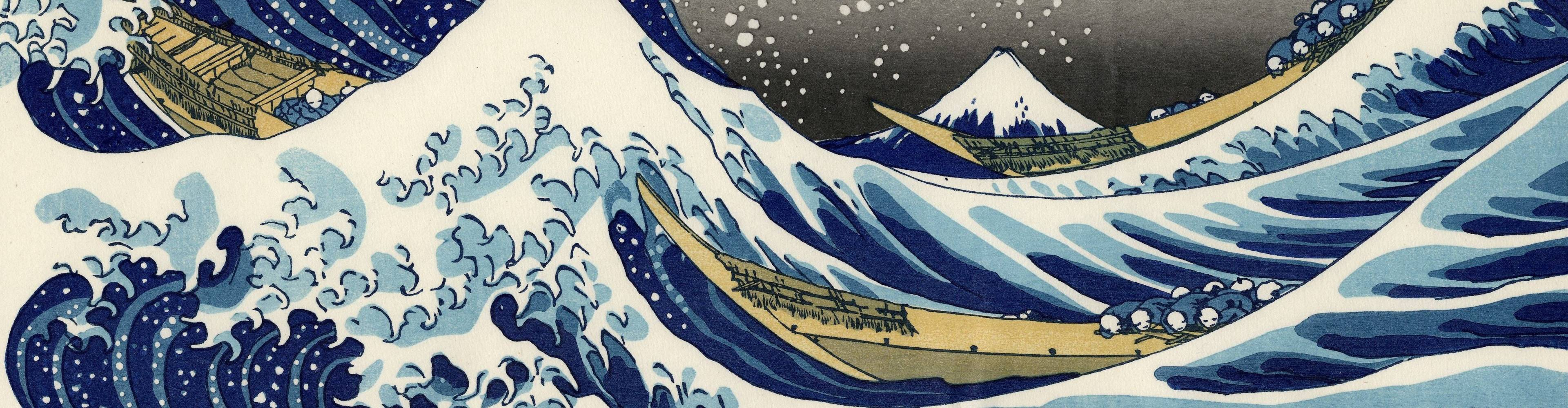 virmuze museum Ukiyo-e: Pictures of the Floating World main banner